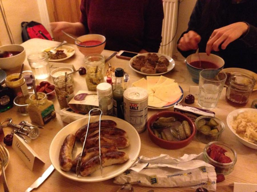 German feast
