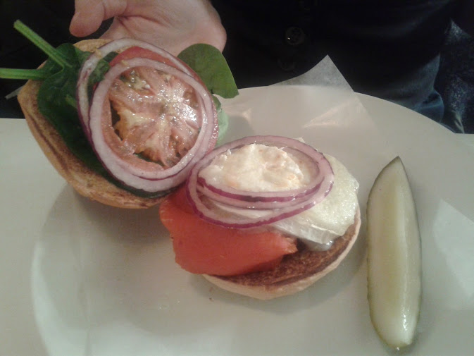 The Veggie Burger at Byron