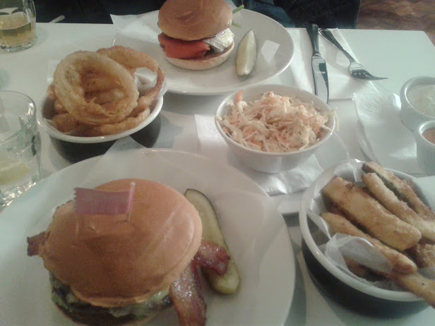 Burgers at Byron Bristol