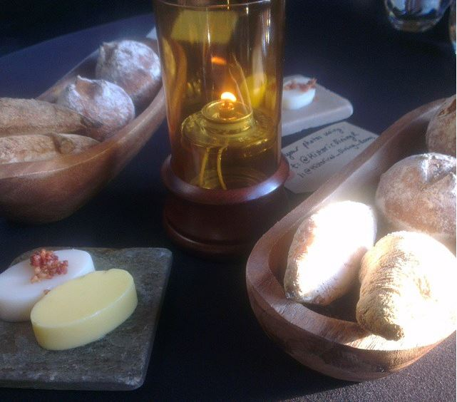 Breads, butter and lard - a deliciously indulgent combo.