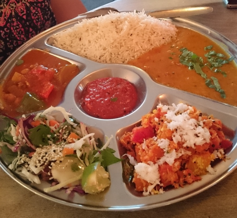 The Dairy Free Thali