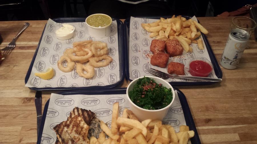 Review soul fish bristol saucy pans for Soul fish menu