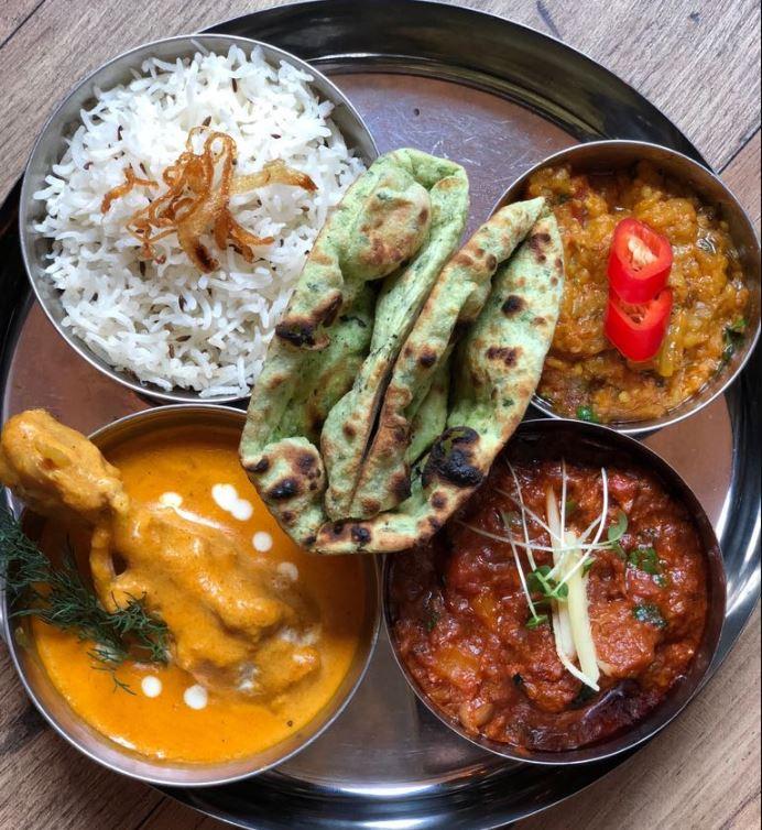 Nutmeg Rajasthan menu
